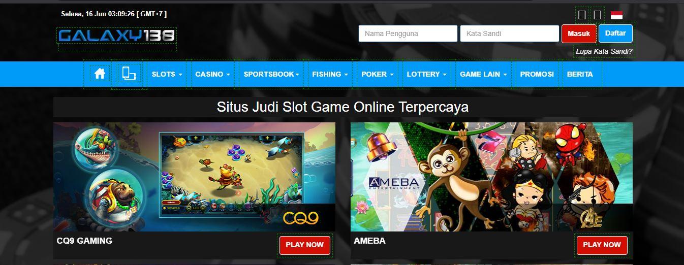 Galaxy138 Situs Agen Judi Slot Online Uang Asli Terpercaya Di Indonesia